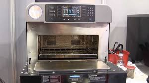 Turbo Toaster Oven Turbochef Encore High Speed Convection Microwave Youtube
