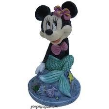 aquarium disney ornament mermaid minnie mouse 966 mickey mouse