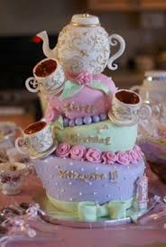 Mad Hatter Decorations Teapot Cakes Http Www Cake Decorating Corner Com