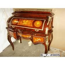 bureau secretaire antique secrétaire antique style baroque bureau plat louis xv mosc0454skrd