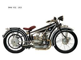 bmw bavarian motors bmw r32 motorcycle produced by bavarian motor works in 1923