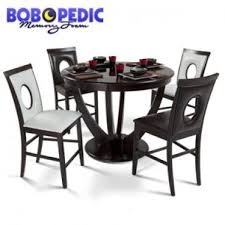 Dining Room Pub Sets Meridian 5 Piece Pub Set Glass Top Bob U0027s Home Decor