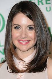 framed face hairstyles with bangs alison brie long hairstyle face framing hair pretty designs