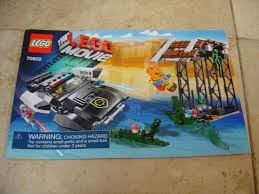 the lego movie 70802 bad cop u0027s pursuit instruction booklet manual