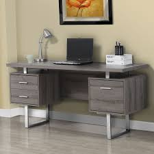 modern desks harley gray washed desk eurway modern
