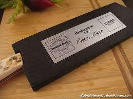 handcrafted kitchen knives michael zieba chef 6fort henry custom knives