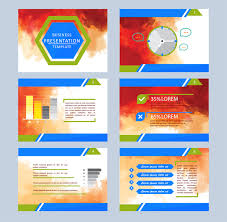 vector business presentation background free vector download