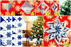 christmas diy paper snowflake projects 2d u00263d to beautify your