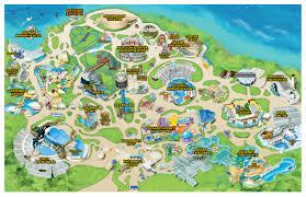 Aquatica Map Seaworld Park Map Theme Park U0026 Attractions Map Seaworld Orlando