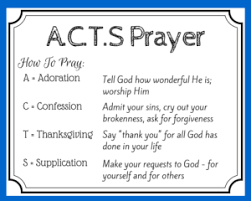 use a c t s prayer to pray as jesus taught kathryn shirey