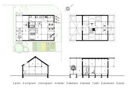 Greenhouse Floor Plans by Yoshichika Takagi Uses Greenhouse Strategies To Construct House In