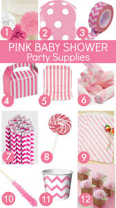baby shower decorations for a girl pink baby shower ideas catch my party