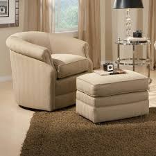 Big Chairs For Living Room by Living Room Awesome Chair Ottoman Set Modern With Brown Leather