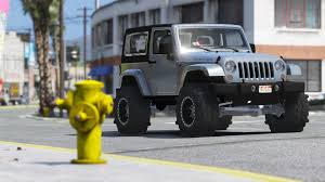 tuning jeep wrangler jeep wrangler unlimited 3 door jk 2013 add on tuning gta5