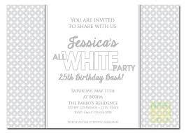 all white invitation white invitation summer