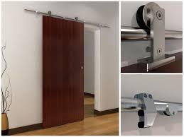 home hardware doors interior 6 6 ft sliding barn wood door top mounted stainless steel sliding