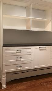 transitional style regal closet doors and drawers