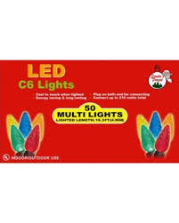 spectacular deal on 09558 led c6 clear 50ct faceted lights