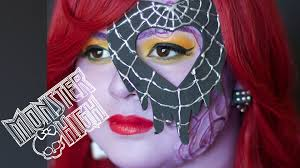 medina city halloween monster high makeup tutorial for halloween or cosplay karla