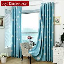 Toddler Blackout Curtains Children Blackout Curtains For Kid S Room Clouds Blue Sky