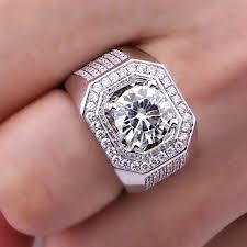 diamond man rings images Mens white gold diamond wedding rings s mens white gold diamond jpg