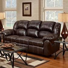 Chelsea Home Ambrose Reclining Leather Sofa Brandon Brown - Chelsea leather sofa