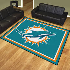 Dolphin Rugs Miami Dolphins Welcome Mats Sports Team Logo Doormats Nfl Mats