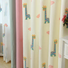 buy nursery curtains and get free shipping on aliexpress com