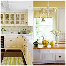 yellow kitchen walls white cabinets stay mellow four shades of yellow kitchens