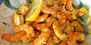 cuisiner crevette crevettes épicées coriandre et citron facile recette sur