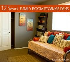 12 smart family room storage ideas essentially mom