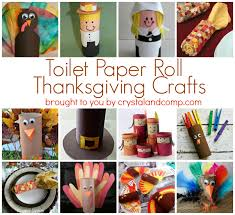 paper roll thanksgiving crafts