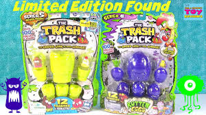 trash pack trashies limited edition series 5 u0026 6 opening