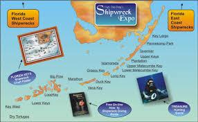 florida shipwrecks map the florida shipwreck expo directory capt dan berg s guide