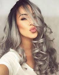 salt and pepper hair colour best hair color for brown eyes 43 glamorous ideas to love