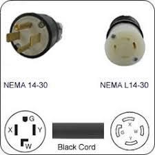 nema straight blade block style adapter cables com