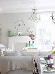 Shabby Chic Style Wallpaper by Shabby Chic Vintage Living Room Traditional With California