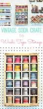 Halloween Washi Tape by Vintage Soda Crate To Washi Tape Storage Happiness Is Homemade