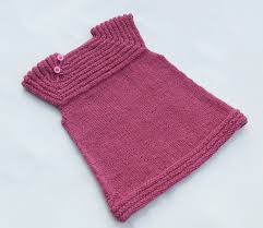 Free Baby Dress Knitting Pattern After The Tunics I Also Knit