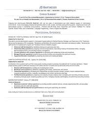 resume templates accounting assistant job summary exle executive assistant job resumes sweet partner info