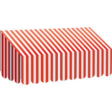 White Awning Red U0026 White Stripes Awning Tcr77165 Teacher Created Resources