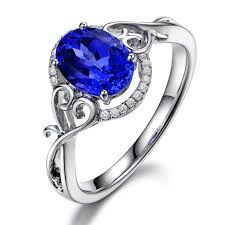 tanzanite gemstone rings images The best shapes for tanzanite rings jewelry design blog jpg