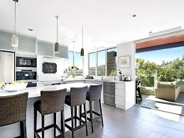 Modern Kitchen Island Bench View In Gallery Modern Kitchen L Shaped Kitchen Island Designs