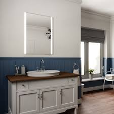 Demister Bathroom Mirrors by Elaine Ultra Slim 80 X 60cm