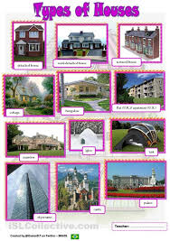 Different Styles Of Homes Types Of Homes Types Of Houses Pictionary Hope It S Useful The