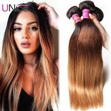 how to style brazilian hair ombre brazilian virgin hair straight 4pcs lot three tone ombre