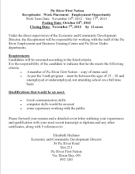 receptionist cover letter no experience sle 28 images review