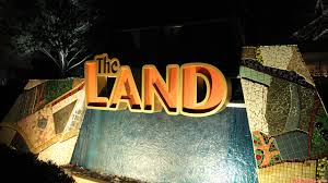 Living With The Land Epcot by The Land The Land Entrance Sign At Night