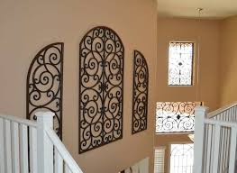rod iron home decor stair in the house decorated with wall wrought iron decorations