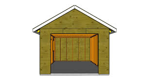 Build A Small House by How To Build A Detached Garage Howtospecialist How To Build